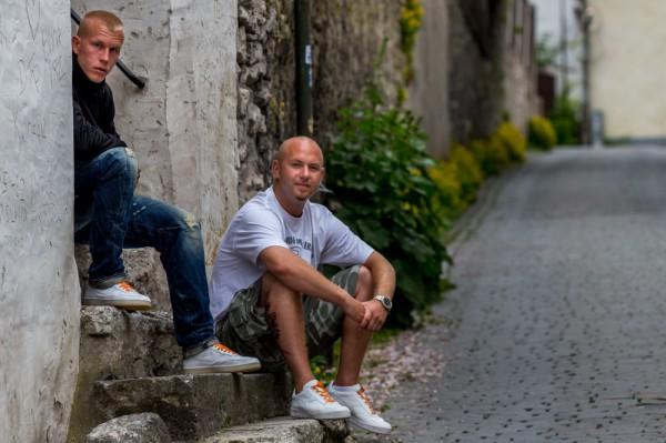 Anders och Johan från Unga KRIS 08 Stockholm. Foto: Joakim Berndes
