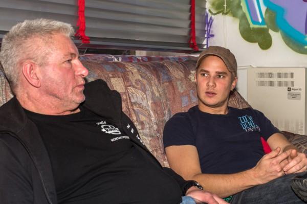 Tommy Hansson och Robin Hallberg. Foto: Joakim Berndes