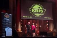 H.M Drottning Silvia avslutar dagen med sitt tal till KRIS. Foto: Joakim Berndes